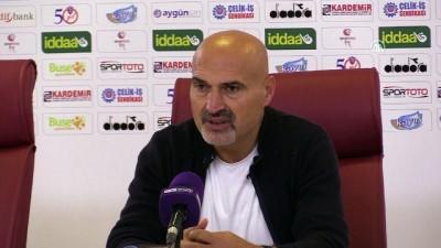 Karabükspor-Boluspor maçının ardından - Açıkgöz ve Karafırtınalar - KARABÜK