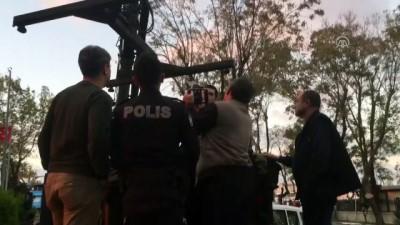 Maket uçaksavarlı cip, trafikten men edildi - İSTANBUL
