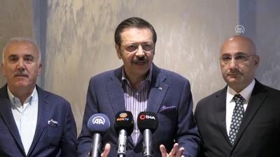 TOBB Başkanı Hisarcıklıoğlu: 'Ekonomide olumlu gelişmeler var' - KONYA