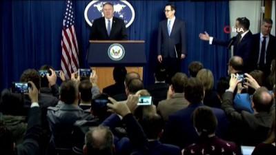 """- 50 Banka Ve 700 Kişiye Yaptırım - ABD'nin İran Yaptırımları Başladı - Pompeo: """"Türkiye Yaptırımlardan Muaf"""""""