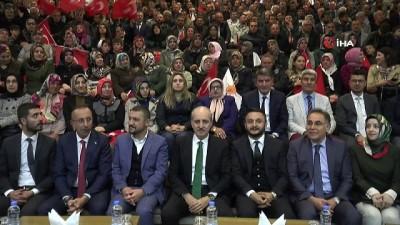 "AK Parti Genel Başkan Vekili Numan Kurtulmuş, ""Bu seçimde torpille kimseye iltimas yok"""