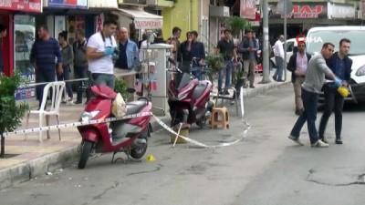 İskenderun'da sokak ortasında silahlı kavga