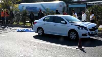 Otomobilin çarptığı yaşlı kadın öldü - MANİSA