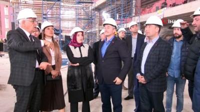 sili -  Şahinbey Kongre Merkezi hızla tamamlanıyor