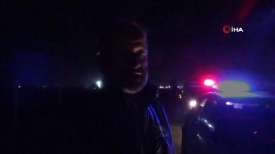 Alkollü sürücü polise önce dua ve teşekkür etti, sonra öfkelendi