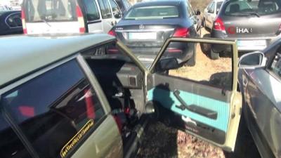 Antalya'da plakasız otomobille drift atıp kaçan sürücüye rekor ceza