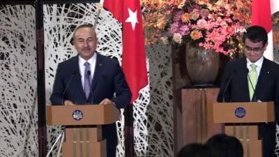 """- Bakan Çavuşoğlu: """"Ekonomik Ortaklık Anlaşması Hazırlanıyor"""" - """"Japonya Meselelere Objektif Yaklaşıyor"""""""