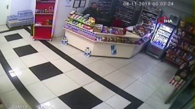 akaryakit istasyonu -  Benzin istasyonunda bıçaklı saldırı kamerada