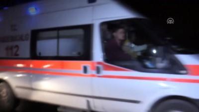 Düzensiz göçmenleri taşıyan minibüs şarampole yuvarlandı - 5 ölü, 16 yaralı - VAN