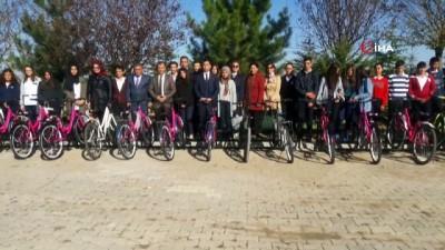 Kaman ilçesinde 'Sağlık için Hareket Çocuklar için Bisiklet' projesi hayata geçti
