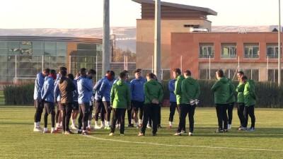 Kayserispor'da, Galatasaray maçı hazırlıkları başladı - KAYSERİ