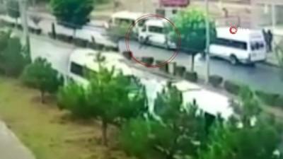 agir yarali -  Otomobilin çarptığı çocuk metrelerce böyle savruldu