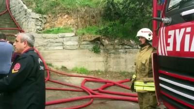 Pendik'te gecekondu yangını - İSTANBUL
