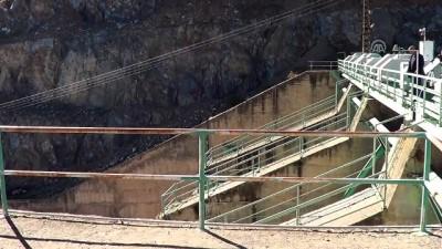 Tahtaköprü Barajı'nda yükseltme çalışmaları sürüyor - GAZİANTEP