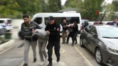 Tokat'ta 3.8 milyonluk soygunun zanlıları adliyeye sevk edildi