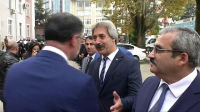 Tokat'ta vali karşılama kuyruğu
