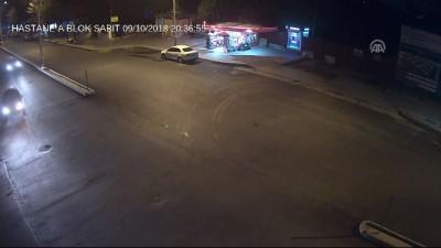 Trafik kazaları MOBESE kameralarında - ERZİNCAN