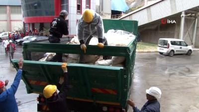 Van'da 12 ton uyuşturucu imha edildi