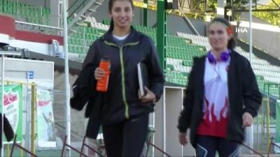 Ailesinin atletizme izin vermediği Urkuş Işık, Balkan şampiyonu oldu