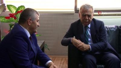 Aziz Kocaoğlu'ndan MHP İl Başkanı'na ziyaret