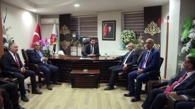 Başkan Tahmazoğlu'ndan GGC'ye ziyaret