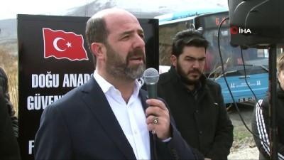 acilis toreni -  Erzurum'da Şehitler Çeşmesi açıldı
