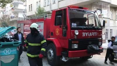 yangina mudahale - Gaziantep'te ev yangını