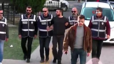 Ortalığı birbirine katan sürücü tutuklandı