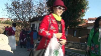 Uzakdoğulu turistlerin Osmanlı kenti Safranbolu hayranlığı