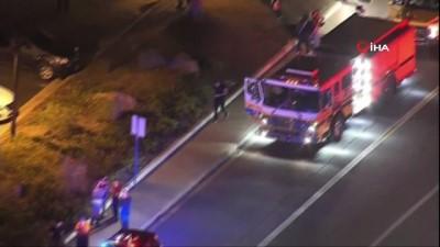 silahli saldiri -  - ABD'deki silahlı saldırıda bir polis yaralandı