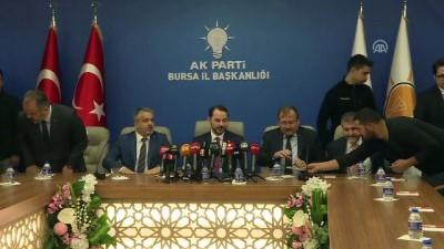Bakan Albayrak: 'Türkiye, 2018'de ligleri teker teker aşarak süper lige çıktı' - BURSA