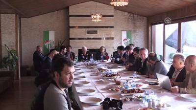 Bursaspor Kulübü Başkanı Ay: 'Kimseden korkmuyoruz, vicdanen rahatız' - BURSA