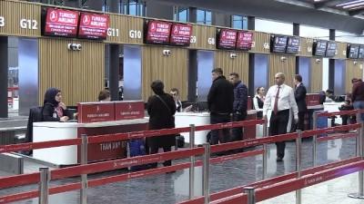 İstanbul Havalimanı'ndan Bakü'ye ilk uçuş gerçekleştirildi - İSTANBUL