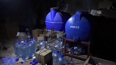 Kaçak içki imalathanesine operasyon - GAZİANTEP