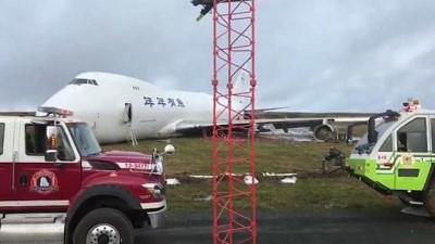 kargo ucagi - Kanada'da kargo uçağı pistten çıktı