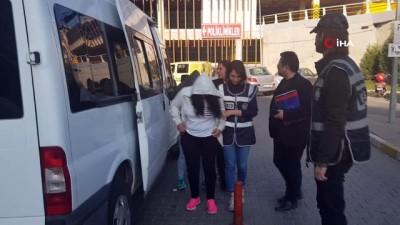 Karabük'te fuhuş operasyonunda 4 kadın gözaltına alındı
