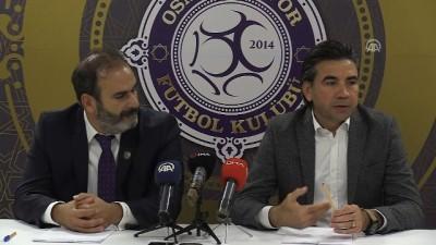 teknik direktor - Osmanlıspor'da teknik direktör Özköylü imzayı attı - ANKARA
