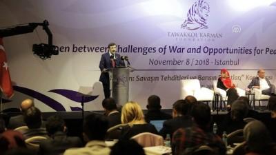 'Yemen: Savaşın Tehditleri ve Barışın Fırsatları' Konferansı - AK Parti Genel Başkan Yardımcı Yılmaz (2) - İSTANBUL