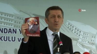 Bakan Selçuk, Kayseri'de bir okulun temel atma törenine katıldı