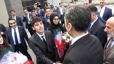 Bakan Ziya Selçuk'a 'marşlı' karşılama - KAYSERİ