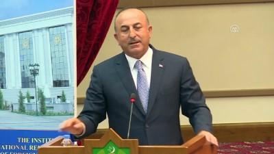 Çavuşoğlu: 'Bugün batıda ırkçılık, yabancı düşmanlığı, islam ve göçmen düşmanlığı had safhada' - AŞKABAT