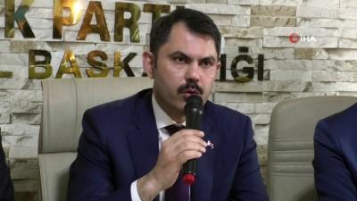 """Çevre ve Şehircilik Bakanı Kurum: """"Gönül belediyeciliği ile Ağrı'yı almak istiyoruz"""""""