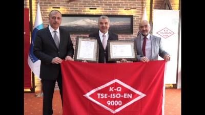Erciyes'e ISO 9001 ve IQ Net belgesi verildi - KAYSERİ