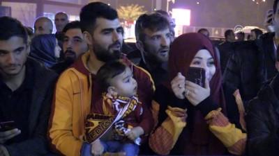 Galatasaray kafilesi, Kayseri'de