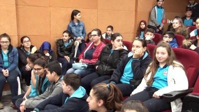 sili -  Karşıyakalı çocuklardan Ata'ya 500 metrelik mektup