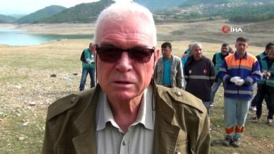sili -  Kozan Barajı'nda çevre temizliği