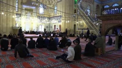 Selimiye Camisi'nde Atatürk ve şehitler için mevlit okutuldu - EDİRNE