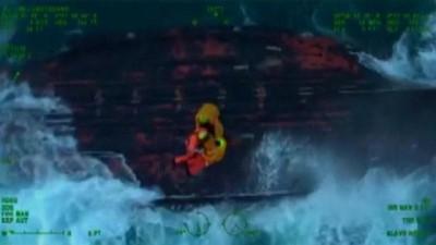 ingiltere - Video | Manş Denizi'nde tekneleri alabora olan balıkçılar kurtarıldı