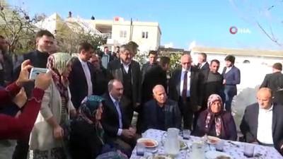 bassagligi -  Adalet Bakanı Gül'den taziye ziyareti
