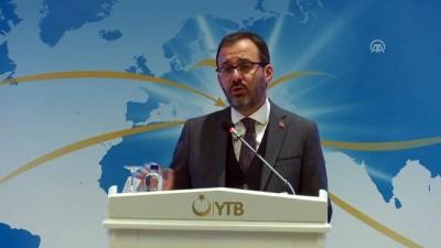Bakan Kasapoğlu: '15 Temmuz'da gençlerimizin Cumhurbaşkanımızın milli duruşuna verdikleri katkı önemli bir katkı' - ANKARA